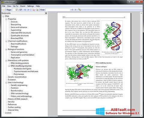 ภาพหน้าจอ Sumatra PDF สำหรับ Windows 8.1