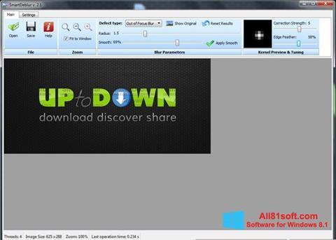 ภาพหน้าจอ SmartDeblur สำหรับ Windows 8.1