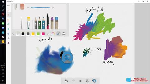ภาพหน้าจอ Fresh Paint สำหรับ Windows 8.1