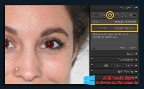 ภาพหน้าจอ Red Eye Remover สำหรับ Windows 8.1