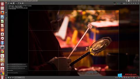 ภาพหน้าจอ RawTherapee สำหรับ Windows 8.1